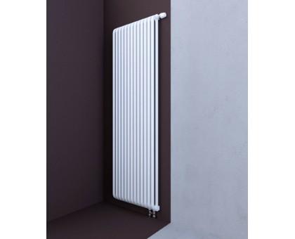 Трубчатый радиатор отопления вертикальный КЗТО РС 2, высота 1784, глубина 100, белый