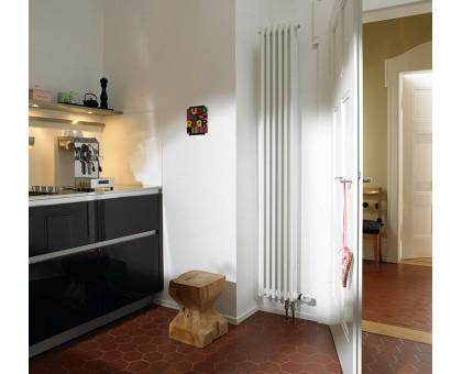 Трубчатый вертикальный радиатор Solira 3180 нижнее подключение 69 ТВВ