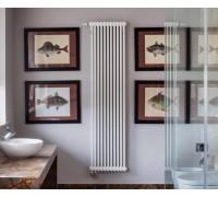 Вертикальный радиатор отопления Solira 2180 с нижним подключением 69 ТВВ