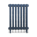 Чугунный ретро радиатор отопления Venera 660/500 - 11 секций