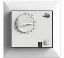 Механический терморегулятор PR-109 Цвет белый/кремовый совместим с рамками Legrand Valena