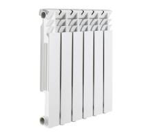 Радиатор алюминиевый 10 секций ROMMER Optima 500 (RAL9016)