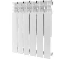 Алюминиевый радиатор отопления ROMMER Plus 500 4 секции (RAL9016)