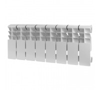 Радиатор отопления алюминиевый ROMMER Plus 200 8 секций (RAL9016)