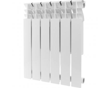 Радиатор алюминиевый ROMMER Plus 500 12 секций (RAL9016)