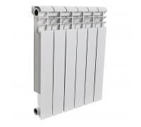 Радиатор отопления алюминиевый ROMMER Profi 500 (AL500-80-80-100) 6 секций (RAL9016)