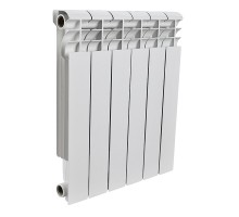 ROMMER Profi BM 350 (BI350-80-80-130) 10 секций радиатор биметаллический (RAL9016)