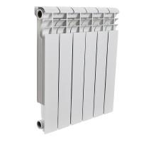 Радиатор алюминиевый 10 секций ROMMER Profi 500 (AL500-80-80-100) (RAL9016)