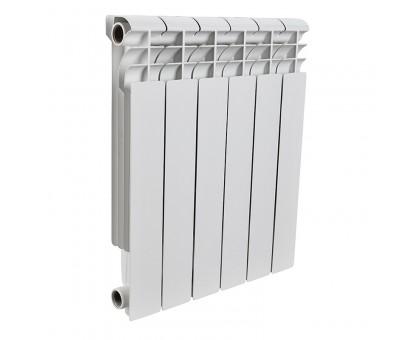 Радиатор биметаллический 10 секций ROMMER Profi BM 500 (BI500-80-80-150) RAL9016