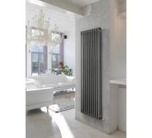 Трубчатый радиатор отопления Zehnder Charleston 3180 вертикальный боковое подключение, прозрачный лак (Techno Line)