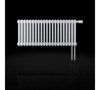 Трубчатый радиатор Arbonia 3030 нижнее подключение ТВВ, белый