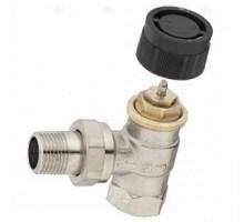 Вентиль термостатический угловой 1/2 Oventrop серия А арт. 118 10 04