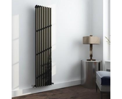 Трубчатый радиатор отопления вертикальный Loten Grey V высота 1500