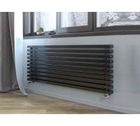 Радиатор отопления стальной трубчатый Loten Grey Z длина 1250