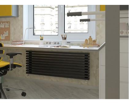 Стальной трубчатый радиатор отопления Loten Grey Z длина 1500