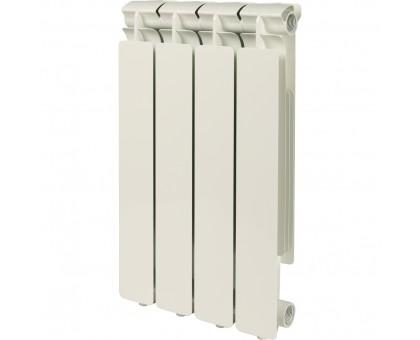 Радиатор отопления алюминиевый STOUT Bravo 500 4 секции боковое подключение