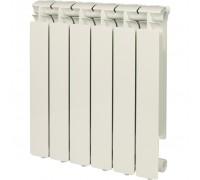 Радиатор отопления алюминиевый STOUT Bravo 500 6 секций боковое подключение