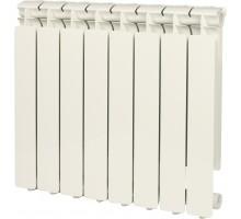 Радиатор отопления алюминиевый STOUT Bravo 500 8 секций боковое подключение