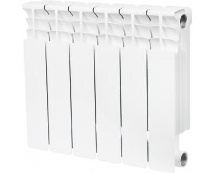 STOUT Space 350 6 секций радиатор биметаллический боковое подключение