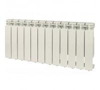 Алюминиевый радиатор отопления STOUT Bravo 350 12 секций боковое подключение